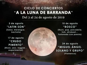24th August free classical guitar concert in Barranda, Caravaca de la Cruz