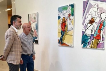 Until 30th June, exhibition of paintings by Manolo Pardo at the Mubam museum in Murcia