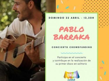 22nd April Live music at Rin Ran Market El Palmar on Sunday