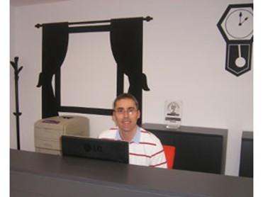Interior de la Oficina de Turismo de Cehegín