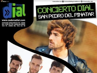 28th June free Cadena Dial pop concert in San Pedro del Pinatar