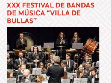 21st October free entry bands festival in Bullas