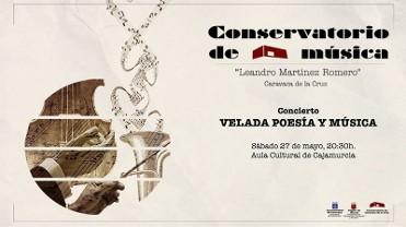 27th May night of music and poetry Caravaca de la Cruz