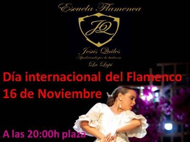 16th November Free Flamenco dance performance in San Javier