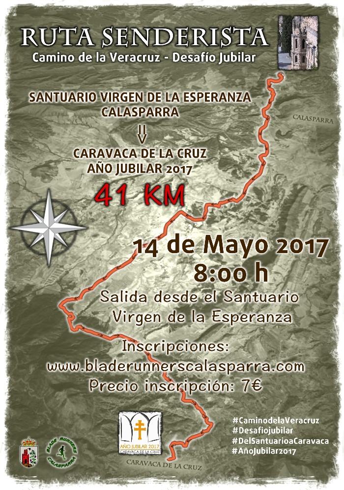 Ruta de Senderismo: Santuario Virgen de la Esperanza-Caravaca Jubilar 2017
