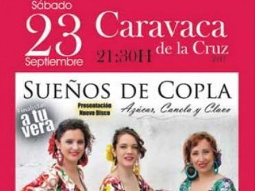 23rd September free concert: Sueños de Copla in Caravaca de la Cruz