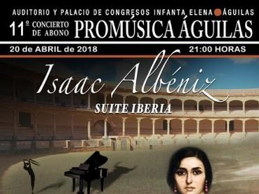 20th April piano recital in the Águilas Auditorio Infanta Elena