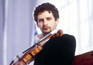 25th April 2020 violinist Ilya Gingolts and the Norwegian Radio Orchestra at the Auditorio Víctor Villegas in Murcia