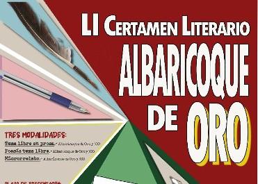 LI CERTAMEN LITERARIO, ALBARICOQUE DE ORO