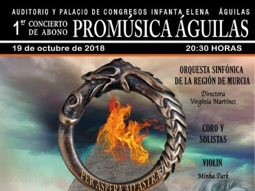 19th October OSRM Regional Symphony Orchestra perform Beethoven in Águilas