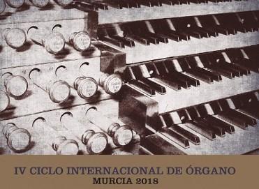 21st March 2019 free ortgan recital in Murcia City: I Ciclo Suenan los Órganos en Murcia