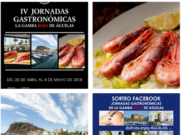 20th April to 8th May, red prawn gastronomy event in Águilas