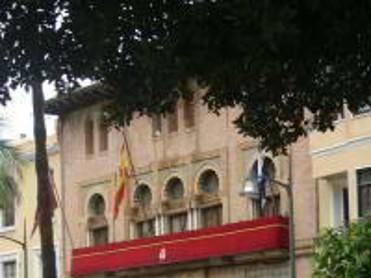Fachada Ayuntamiento de Águilas