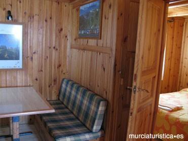 Interior caravana