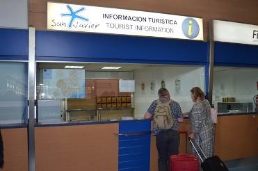 SAN JAVIER - PUNTO DE INFORMACIÓN TURÍSTICA AEROPUERTO
