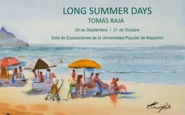 Until 21st October, Tomás Raja at the Universidad Popular in Mazarrón