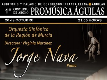 20th October first of the 2017-2018 Promúsica concerts at the Auditorio Infanta Doña Elena in Águilas