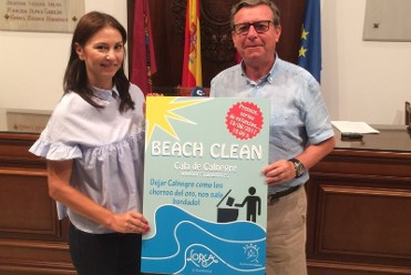 19th August environmental beach clean on Calnegre beach in Lorca