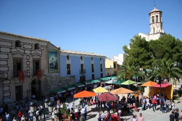 30th April El Mesoncico artisan market in Cehegín, north-west Murcia