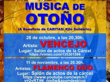 28th October solidarity musical concert in Totana with Vencejo