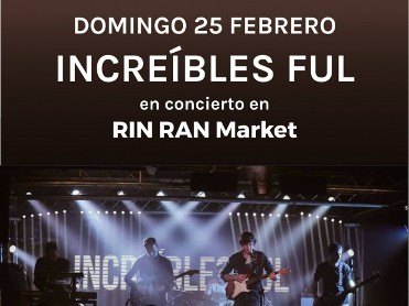 25th February live music, loads of stalls and pancake challenge at the Rin Ran Market el Palmar