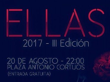 20th August free entry concert in Águilas : Ellas