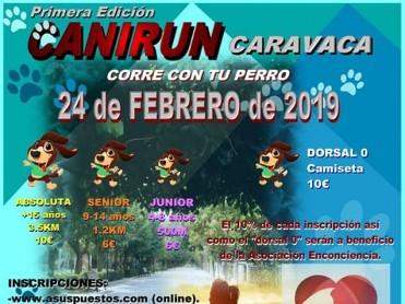 24th February Canirun Caravaca de la Cruz: running race with dogs