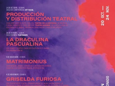 20th October to 24th November Águilas Theatre Festival