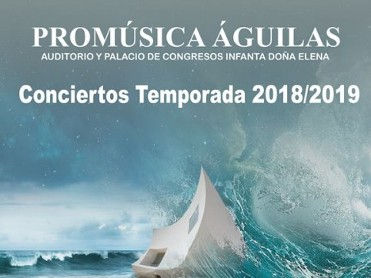 2018-19 Promúsica season tickets offer top value classical concerts in the Águilas auditorium