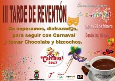 28th February Carnival in Mula celebrates the III Tarde de Reventón
