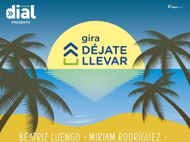 16th July Free Festival on the beach with the Cadena Dial Déjate Llevar tour