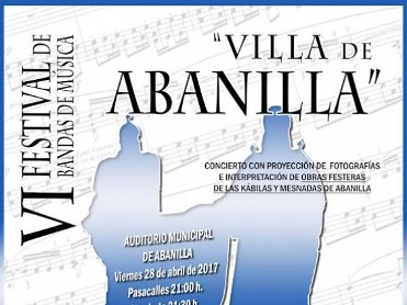 28th April Abanilla free concert festival of bands