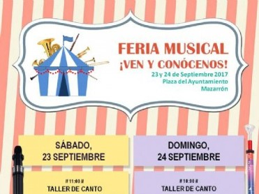 23rd and 24th September Mazarrón Musical Feria
