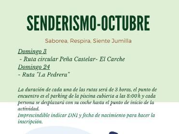 SENDERISMO SIERRA DE LA PEDRERA