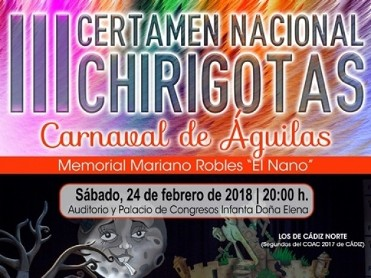 24th February Águilas Carnival Chirigotas competition
