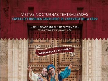 Nocturnal theatrical tours of Caravaca de la Cruz throughout August