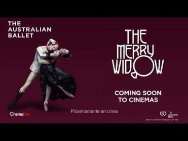 18th October ballet The Merry Widow screened at the Cine Las Velas in Los Alcázares