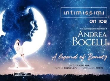 23rd November: Screening of Andrea Bocelli's show Intimissimi on Ice at Las Velas, Los Alcázares