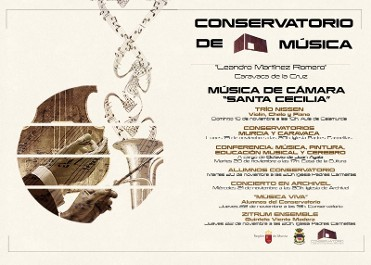 18th to 22nd November Free concerts in Caravaca de la Cruz for Saint Cecilia