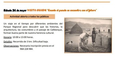 26th May 3km free guided family route in the Calblanque regional park