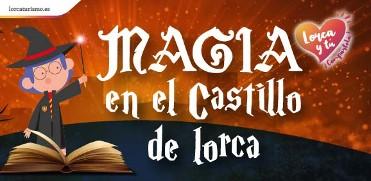 MAGIA EN EL CASTILLO DE LORCA (31 DE OCTUBRE Y 1 DE NOVIEMBRE)