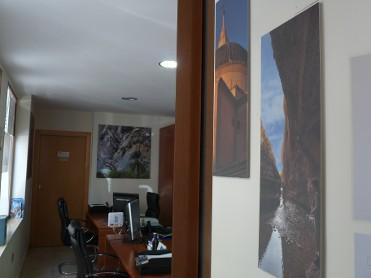 Interior Oficina de Turismo