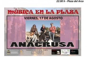 17th August Free concert in Caravaca de la Cruz: Anacrusa