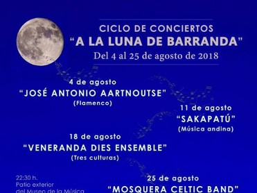 25th August FREE concert: Celtic music in the Barranda ethnic instruments museum