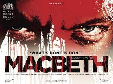 Thursday 24th May Opera: Macbeth at the Cine Las Velas in Los Alcázares