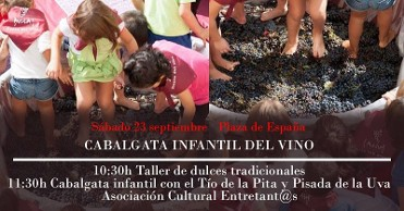 23rd September Children¿s Cabalgata del Vino in Bullas