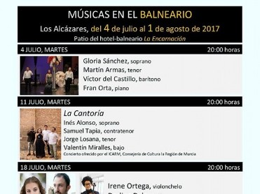 Tuesday 25th July piano in La Encarnacion Los Alcazares