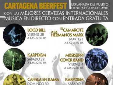 28th October to 6th November Cartagena Beerfest
