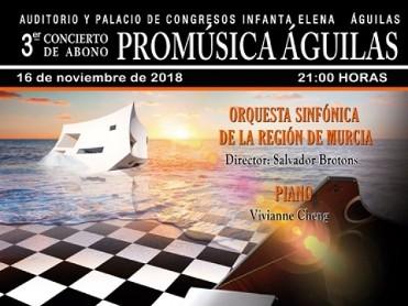 16th November Águilas: Region of Murcia Symphony Orchestra