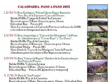 Rutas Paso a Paso 2015